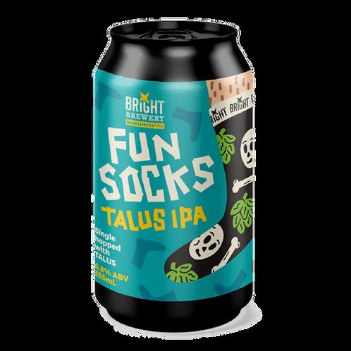 Bright Brewery IPA Fun Socks Talus 355mL 6.8%