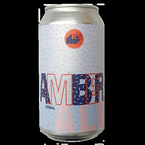 Killer Sprocket Amber Ale 4.8% Can 375mL