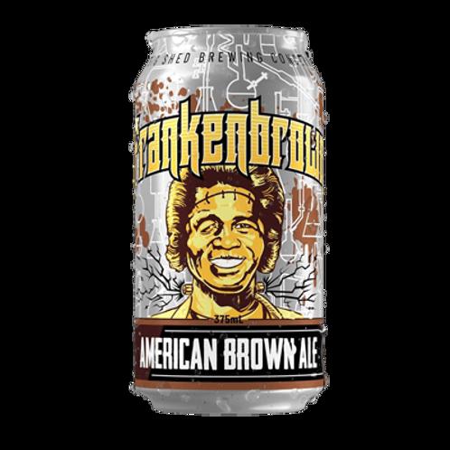Big Shed Frankenbrown - American Brown Ale 5.3% Can 375mL