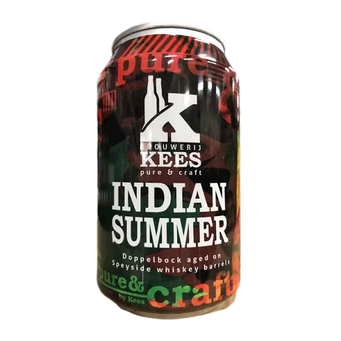 Kees Brouwerij BA Indian Summer Dopplebock 10% Can 330mL
