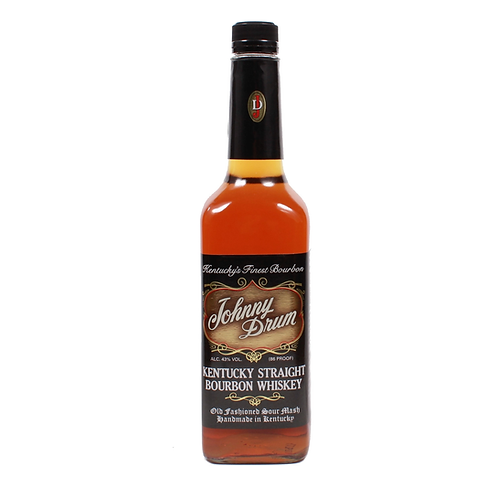 Johnny Drum Black Label Bourbon Whiskey 43% 750mL