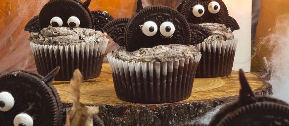 Cupcakes Chauve-souris démoniaques