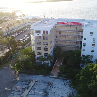 Eight Story Hotel Before Renovation