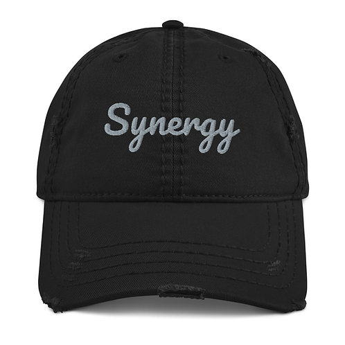 Synergy - Distressed Dad Hat