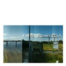Le paysage, le train et le voyageur