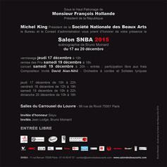 Verso invitation Salon des BA 2015 visue