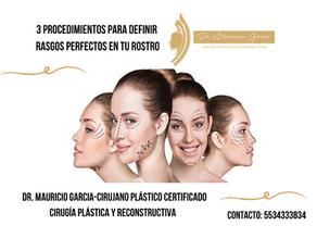 3 procedimientos para definir rasgos perfectos en tu rostro