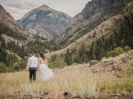 Amanda and Austin's Mountain Elopement