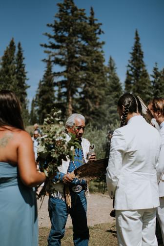 Cody and Turner Native American Wedding Photoshoot