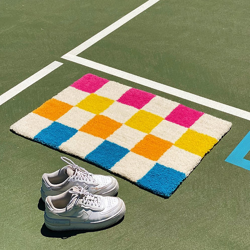 the Checkered Rug