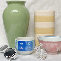 Pottery with sunglasses