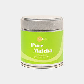 Golde Pure Matcha container