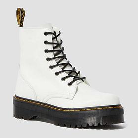 White Dr. Marten Boots