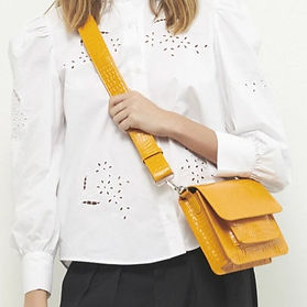 HVISK Yellow Purse