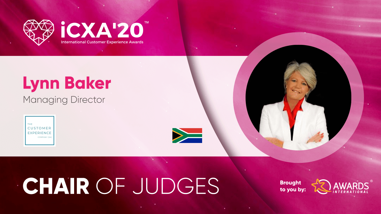 iCXA20 Chair Lynn Baker