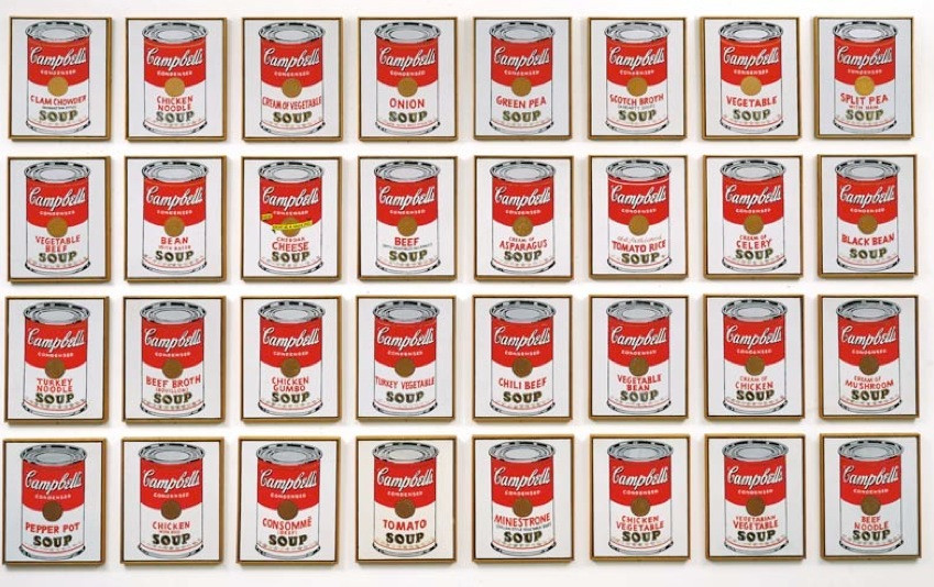 soup cans art andy warhol