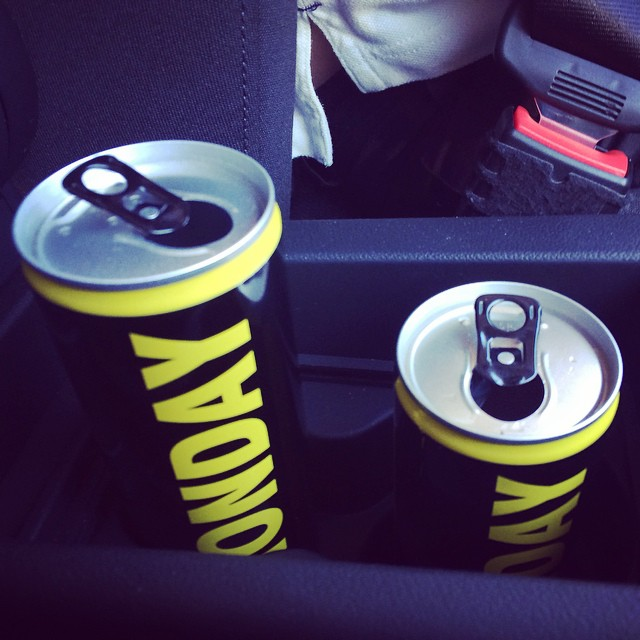#mondayenergy on the go! #monday #montagenergy #energydrink #switzerland #swiss