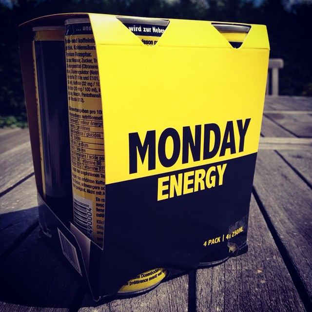 MONDAY Energy neu im 4-Pack! #yay #monday #energy #finally #neu