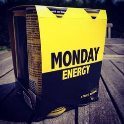 MONDAY Energy neu im 4-Pack! #yay #monday #energy #finally #neu