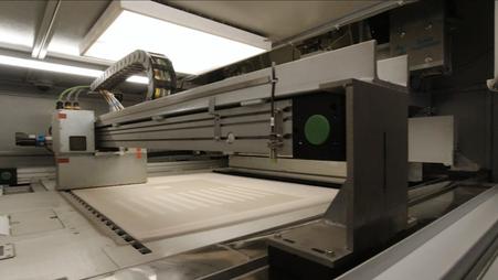 Введен в эксплуатацию принтер АТ1000 на МРК (Магнитка)
