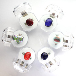 Hand made glass rings.JPG