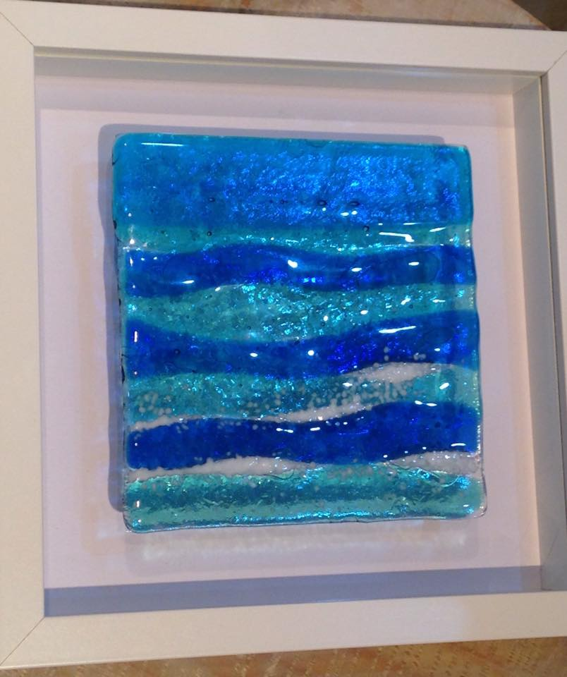 Mounted Glass Art
