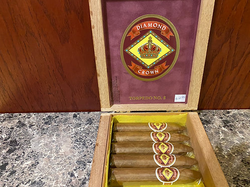 Diamond Crown Cigars-Torpedo No. 8