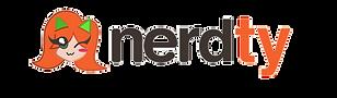 Logotipo - Nerdty Marca Registrada (sem