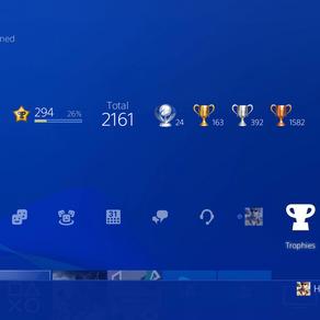 PlayStation modifica sistema de pontuação de Trofeus da PSN