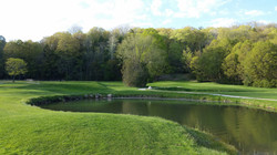 18th Tee and Green #1 on the right