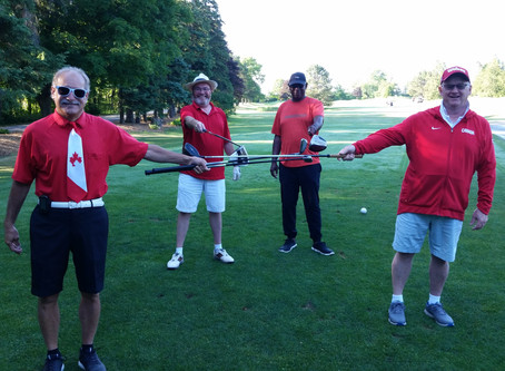 Happy Canada Day!  Celebrating 35 years of golf at 4 Seasons Country Club today...
