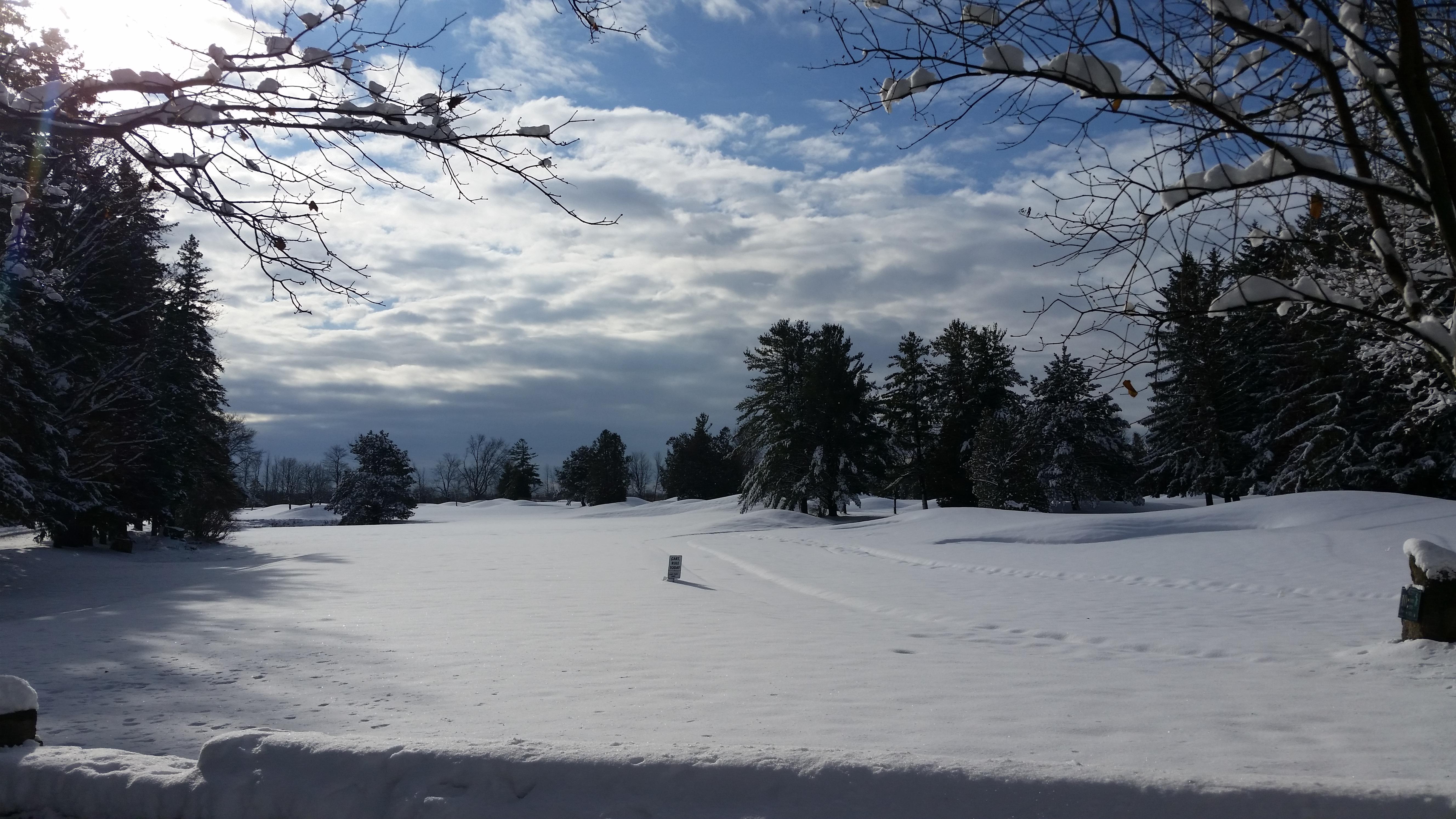 A winter day in November