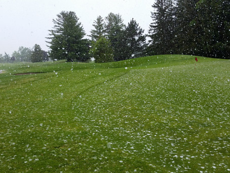 Mother nature is a little confused today... snowing on May 28th
