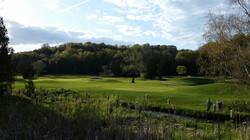 A view of Hole 18 and Green 17