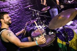 BIGSTER 2017 ao vivo foto drums 2