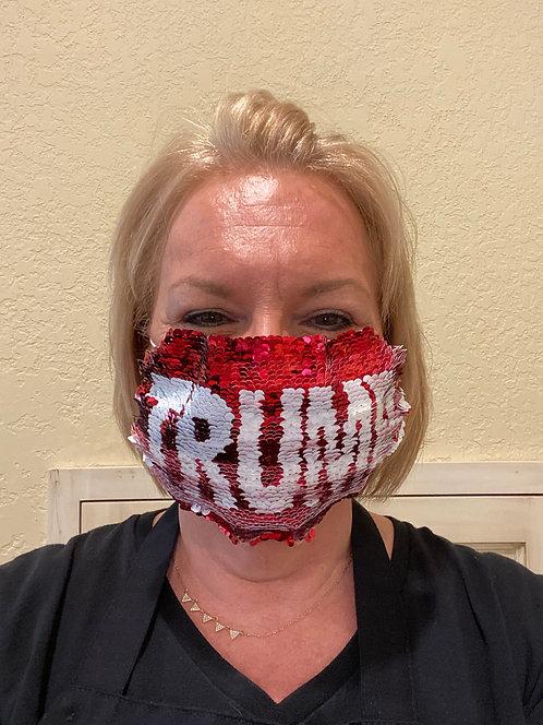 Mask - Trump to Flag Design