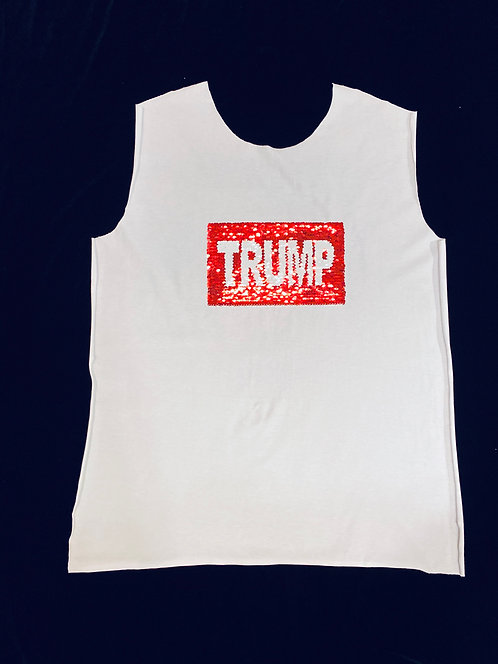 10 Pack - Trump to Flag Design on PANEL -  (NOT A SHIRT)