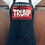 Thumbnail: Black Pocket Apron w/Flipping Trump to Flag  Design (Includes Free Pin)