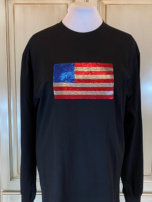 Samples & Such -  Flag to TRUMP T-shirts
