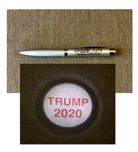 2 or 10 TRUMP 2020 LED Pen Projector - FREE SHIPPING