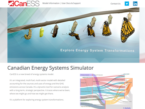 CanESS web portal launch and fall Webinars