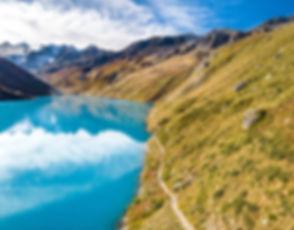 Hiking in Grimentz, Switzerland