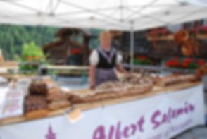 Baker in Grimentz, Switzerland