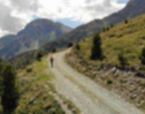 Mountain biking in Grimentz