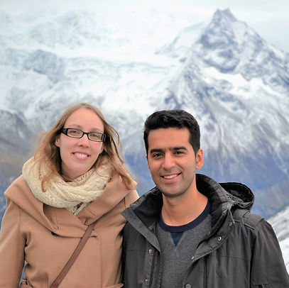 founders of Swiss escape who are from Switzerland and Dubai