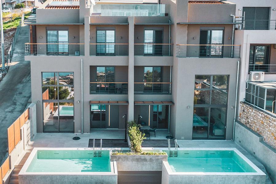 Greek Escape villa exterior