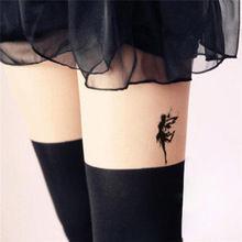 HC1051-Waterproof-Fake-Tattoo-Women-Leg-