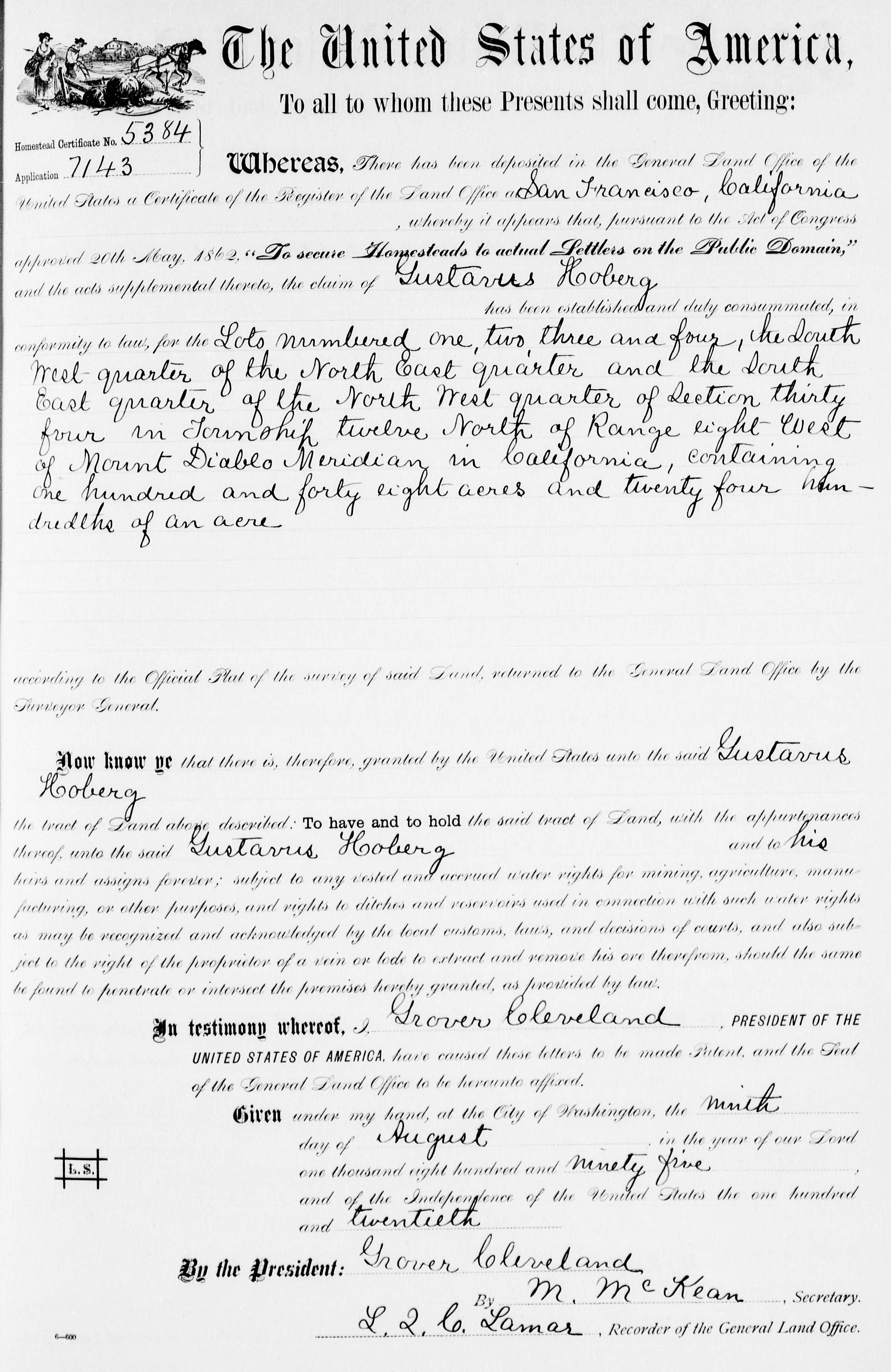 1895LandPatent
