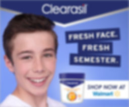 Clearasil Walmart Static Banner (teens).
