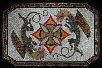 glass mosaic furniture